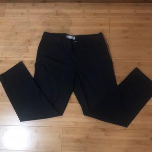 Like new GAP slim cropped charcoal grey pants